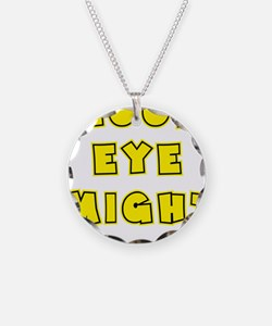 yellow, Good Eye Might, hot  Necklace