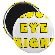 yellow, Good Eye Might, hot mustard Magnet