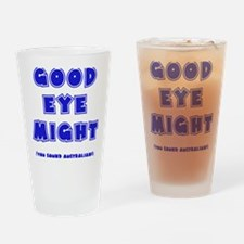 blue, Good Eye Might, hot mustard Drinking Glass