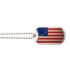 Betsy Ross Revolutionary War Flag Dog Tags