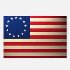 Betsy Ross Revolutionary  Postcards (Package of 8)