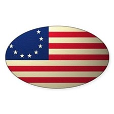 Betsy Ross Revolutionary War Flag Decal