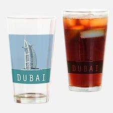 Dubai1postcard Drinking Glass