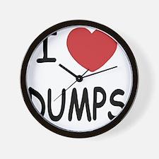 DUMPS Wall Clock