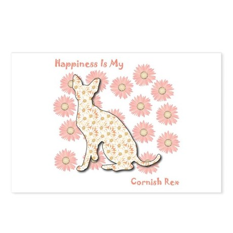 Rex Happiness Postcards (Package of 8)