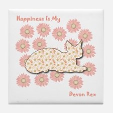 Rex Happiness Tile Coaster