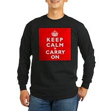 KEEP CALM n CARRY ON T
