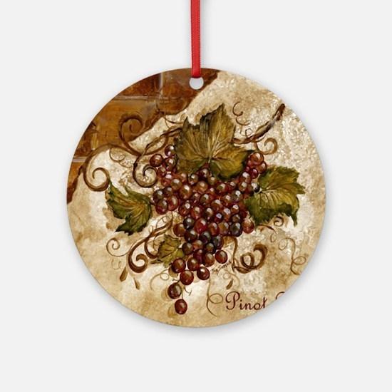 Image38 Round Ornament