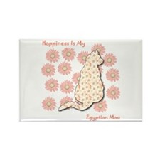 Mau Happiness Rectangle Magnet