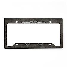 ribcage-grey_9-5x18h License Plate Holder