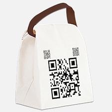 twilight fan QR code by Twibaby.c Canvas Lunch Bag