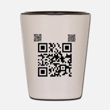 twilight fan QR code by Twibaby.com cop Shot Glass