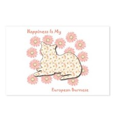 Burmese Happiness Postcards (Package of 8)