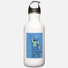 Boy With Stars Water Bottle