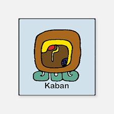"Kaban Square Sticker 3"" x 3"""