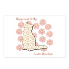 Shorthair Happiness Postcards (Package of 8)