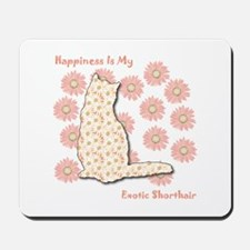 Shorthair Happiness Mousepad