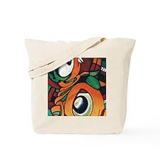 mayan eyes ipad Tote Bag