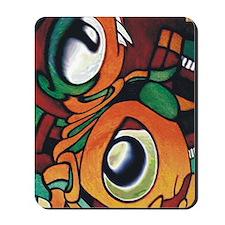 mayan eyes ipad Mousepad