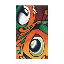 mayan eyes ipad Decal