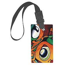 mayan eyes ipad Luggage Tag