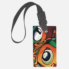 mayan eyes ipad Luggage Tag