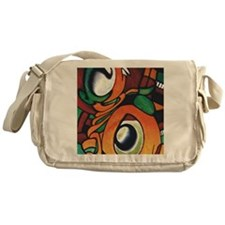 mayan eyes ipad Messenger Bag