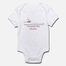 Chesapeake Bay Deadrise Boat Infant Bodysuit