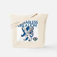 Lion Power Tote Bag