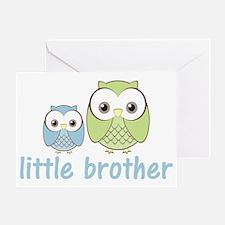 littlebrotherowlbg Greeting Card