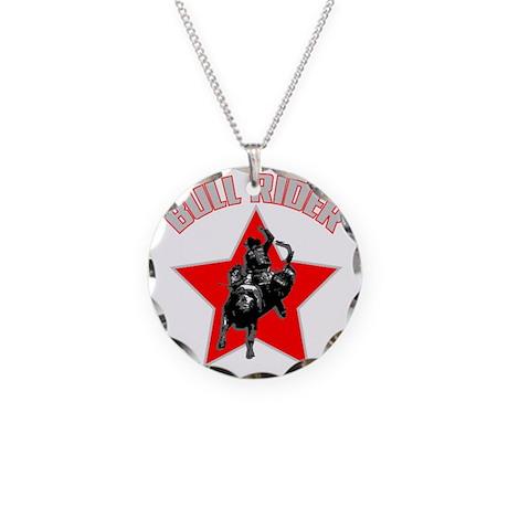 bullriderdk.gif Necklace Circle Charm
