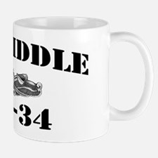 biddle dl black letters Mug