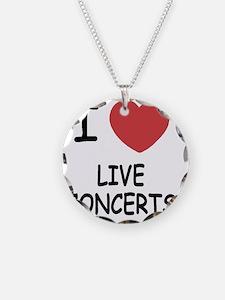 LIVE_CONCERTS Necklace