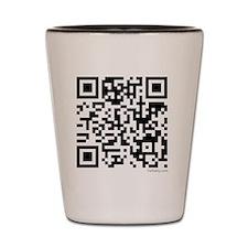 Mrs Edward Cullen QR code copy Shot Glass