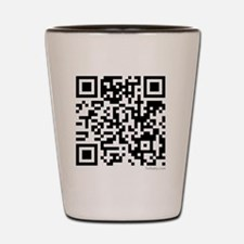 Mrs Edward Cullen QR code copy Shot Glass