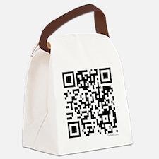 Mrs Edward Cullen QR code copy Canvas Lunch Bag