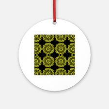 flipflops50 Round Ornament