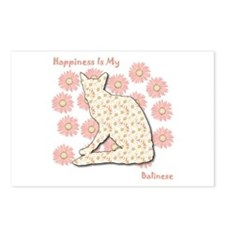 Balinese Happiness Postcards (Package of 8)