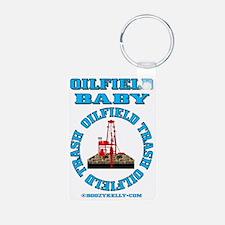 Oilfield Baby ACa 1b A4 Bl Keychains
