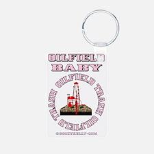 Oilfield Baby ACa 1b A4 Pi Keychains