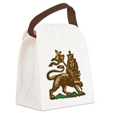 Selassie and Lion pics 001 Canvas Lunch Bag