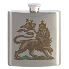 Selassie and Lion pics 001 Flask