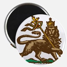 Selassie and Lion pics 001 Magnet