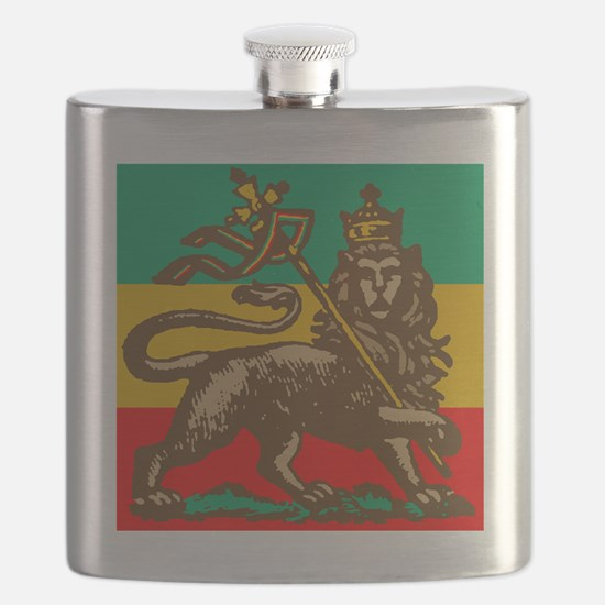 Selassie and Lion pics 003 Flask