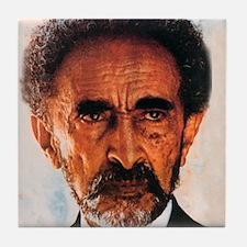 Selassie and Lion pics 009 Tile Coaster