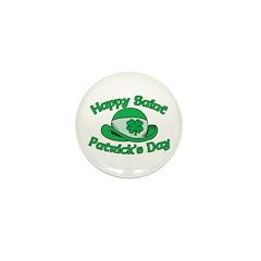 Happy Saint Patrick's Day Mini Button (10 pack)