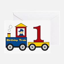 birthdaytrain1 Greeting Card