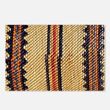 Basket-Weave-laptop-skin Postcards (Package of 8)