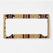 Basket-Weave-laptop-skin License Plate Holder