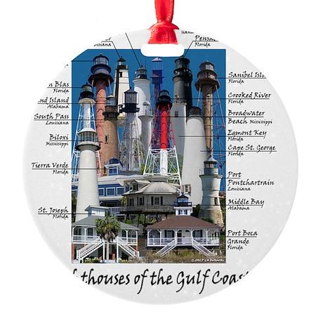 Gulf Coast notes Round Ornament